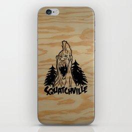 "TYRANT ""Squatchville"" iPhone Skin"