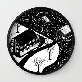 Amityville Horror House Wall Clock
