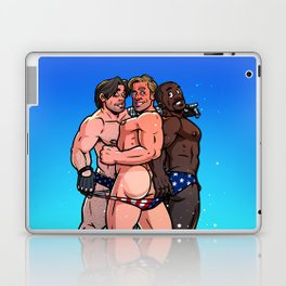 All Caps Laptop & iPad Skin