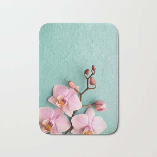 Orchids1 Bath Mat