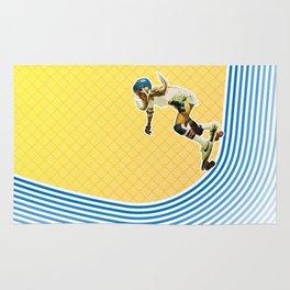 Skate Like a Girl Rug