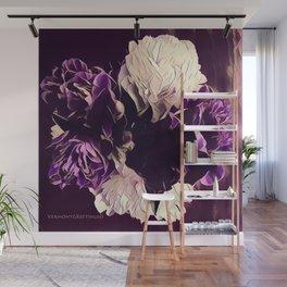 Pretty in Purple Wall Mural