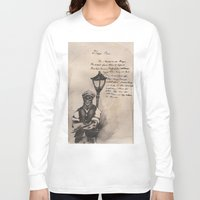 lovecraft Long Sleeve T-shirts featuring Lovecraft Series:  Deep Ones by Furry Turtle Creations
