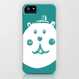 Happy Bear iPhone Case