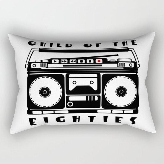 Eighties Music Rectangular Pillow