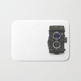 Vintage Camera (Yashica  124 G) Bath Mat