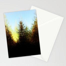 Symmetrical Fir Stationery Cards