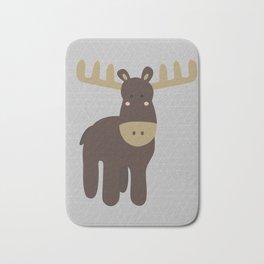 Edward the Moose Bath Mat