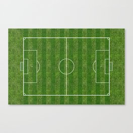 Soccer (Fooball) Field Canvas Print