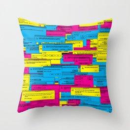 Designer Dialogues AI2 Throw Pillow