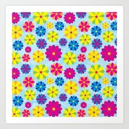 Flowers_101 Art Print