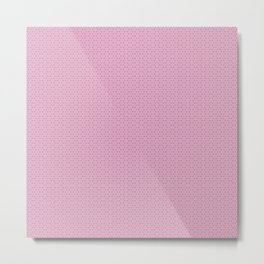 Fragment collection : Pink clover Metal Print