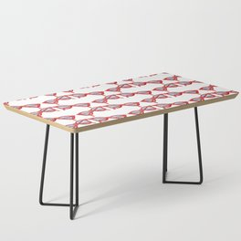 Red Sunglasses Coffee Table