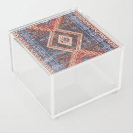 (N16) Boho Moroccan Oriental Artwork for Rustic and Farmhouse Styles. Acrylic Box