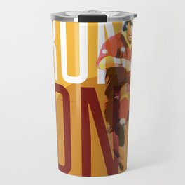 Bruno Conti AS Roma / Serie A Superstar Football Player Travel Mug