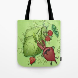 Summer Chilling Tote Bag