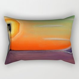 Serpent Horizon Rectangular Pillow