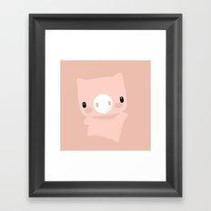 Oinc! Framed Art Print