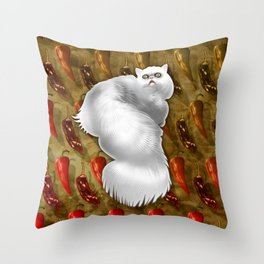 Chipotle of Vhamster Throw Pillow