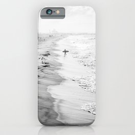 Morning Surfer Manhattan Beach iPhone Case