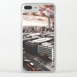 the shard in london Clear iPhone Case