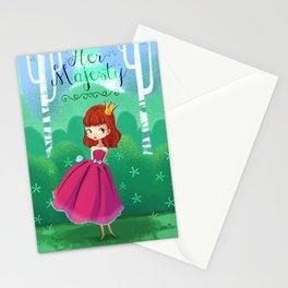 Her majesty  Stationery Cards