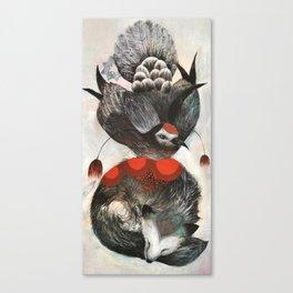 Dove & Fox Canvas Print