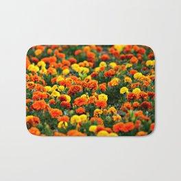 Flower carnation Bath Mat