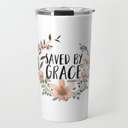Saved By Grace Travel Mug