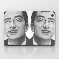 salvador dali iPad Cases featuring Salvador Dali by Earl of Grey