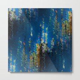 Floral Underwater Metal Print