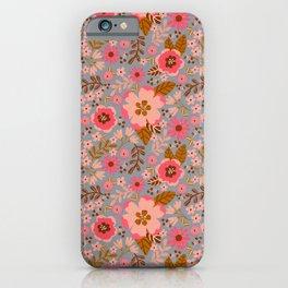Growing Blush Garden iPhone Case
