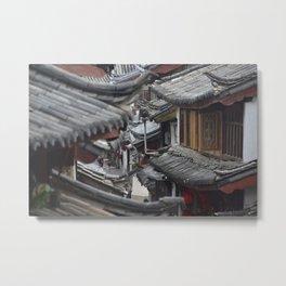 Roof tops Metal Print