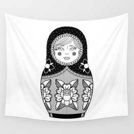 The Russian Doll Wall Tapestry