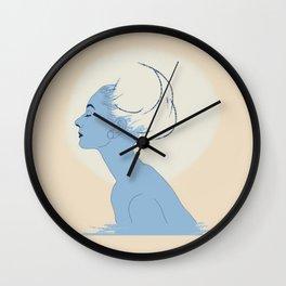 Cotton Audrey Hepburn Wall Clock
