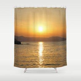 summer feeling Shower Curtain
