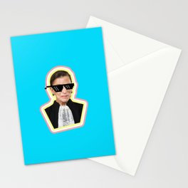 """The Notorious RBG Says """"Deal With It"""" Stationery Cards"""