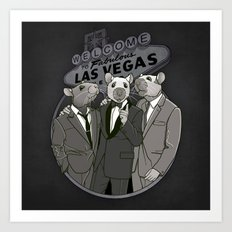 Rat Pack Art Print