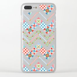Country Days Zig Zag Clear iPhone Case