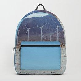 Palm Springs Windmills VII Backpack