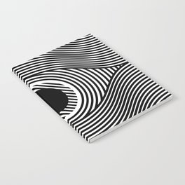 Moire Eye Notebook