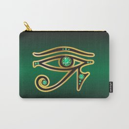 Eye of Ra Emerald Carry-All Pouch