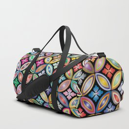Multi Color Design Duffle Bag