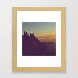 Heading to San Francisco Framed Art Print