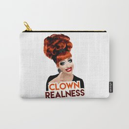 """""""Clown Realness"""" Bianca Del Rio, RuPaul's Drag Race Queen Carry-All Pouch"""