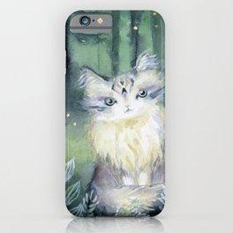 Trust Cat iPhone Case