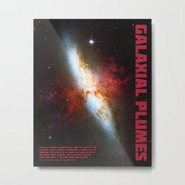 Galaxial Plumes Metal Print