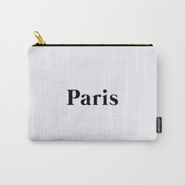 64. Paris Carry-All Pouch