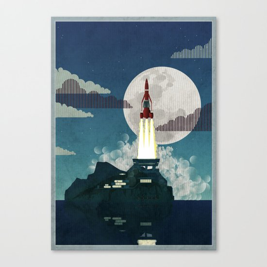 Tracy Island Canvas Print