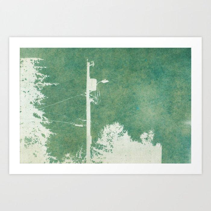 Spring Cyanatope Print Art Print